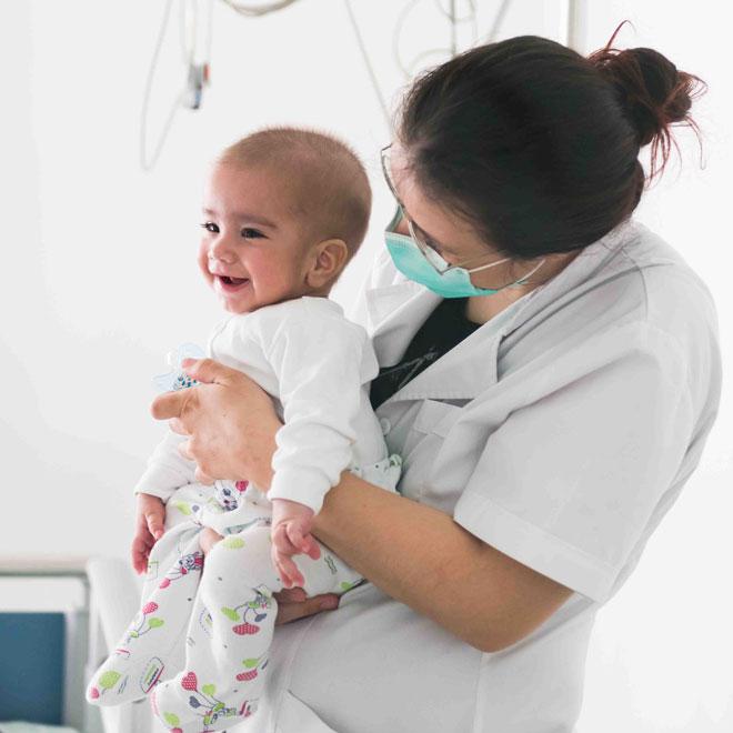 Primul bebelus din romania salvat prin celule stem